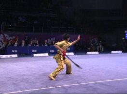 2nd SportAccord World Combat Games (2013) – Wushu (Taolu) – Men's CQ, DS, GS -1st Place