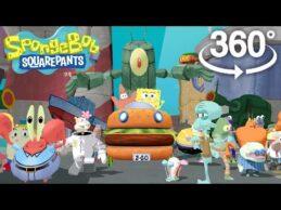 Spongebob Squarepants! – 360° Adventure Video! – (The First 3D VR Game Experience!)